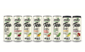 Zevia Organic Tea - Beverage Industry