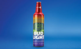 Bud Light World Pride Aluminum Bottle - Beverage Industry