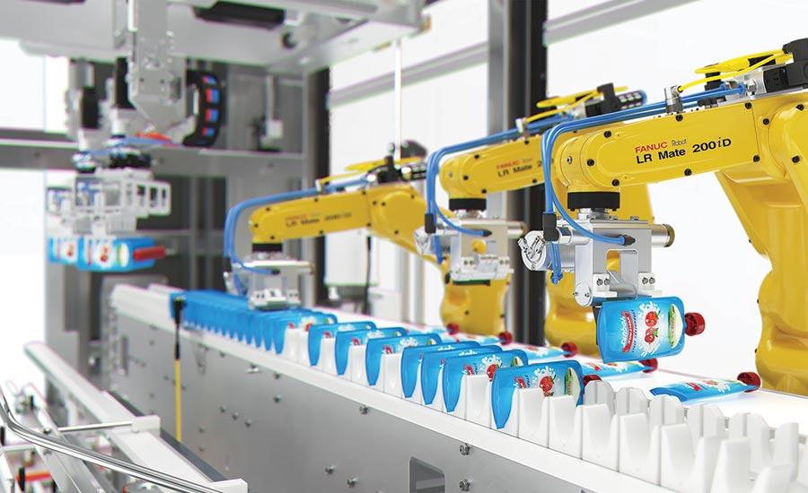 Delkor introduces latest robotic case packer | 2019-06-17 | Beverage  Industry