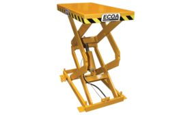Presto ECOA Lifts' CLT Series Compact Scissor Lifts. - Beverage Industry