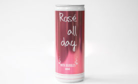 Rosé All Day Bubbly is now available in a can. - Beverage Industry