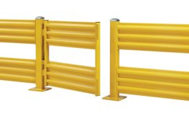 Steel King Industry's self-closing safety gates. - Beverage Industry