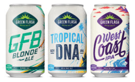 Green Flash Brewing's new packaging. - Beverage Industry