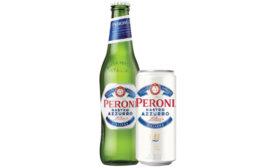 Peroni Nastro Azzurro packaging. - Beverage Industry