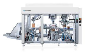 Schubert Cartonpacker at ProFood Tech in Chicago. - Beverage Industry