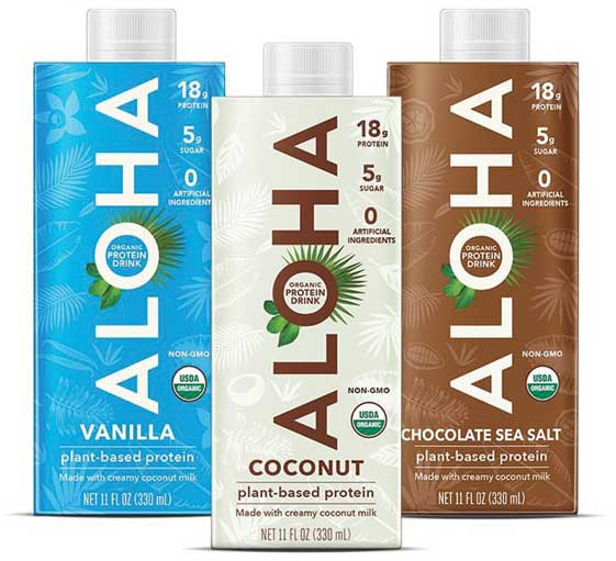 ALOHA Protein Drinks. - Beverage Industry