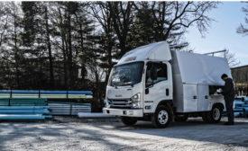 Isuzu Truck Knapheide KUVcc - Beverage Industry