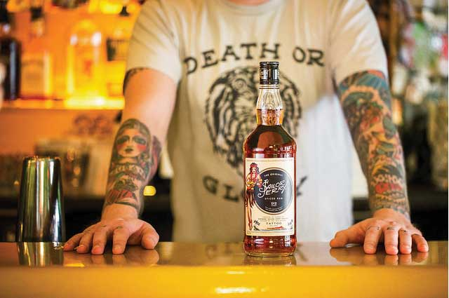 Pop Vegas partnered with Sailor Jerry Spiced Rum for an interactive exhibit. - Beverage Industry