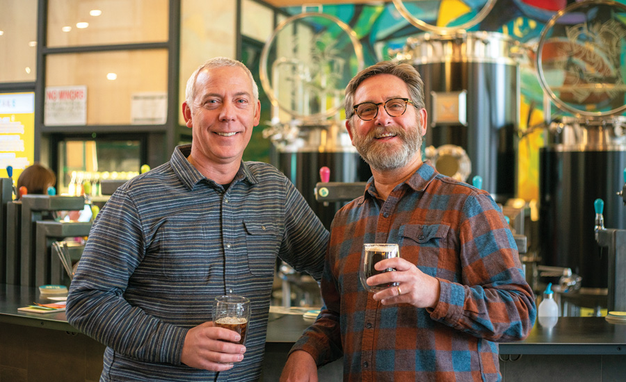Riff Cold Brewed co-founders include Steve Barham, president, (left), and Paul Evers, chief executive officer. - Beverage Industry