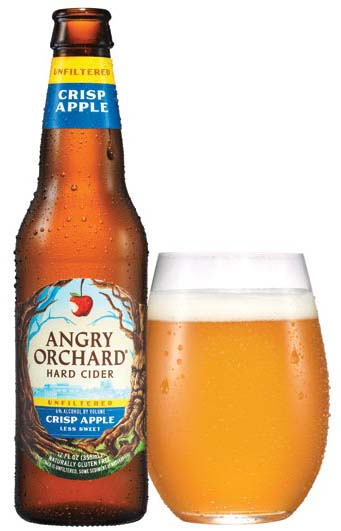 Angry Orchard Crisp Unfiltered.