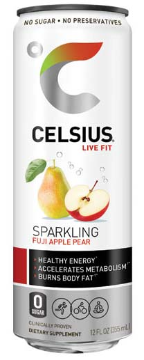 CELSIUS MetaPlus Fitness Drink.