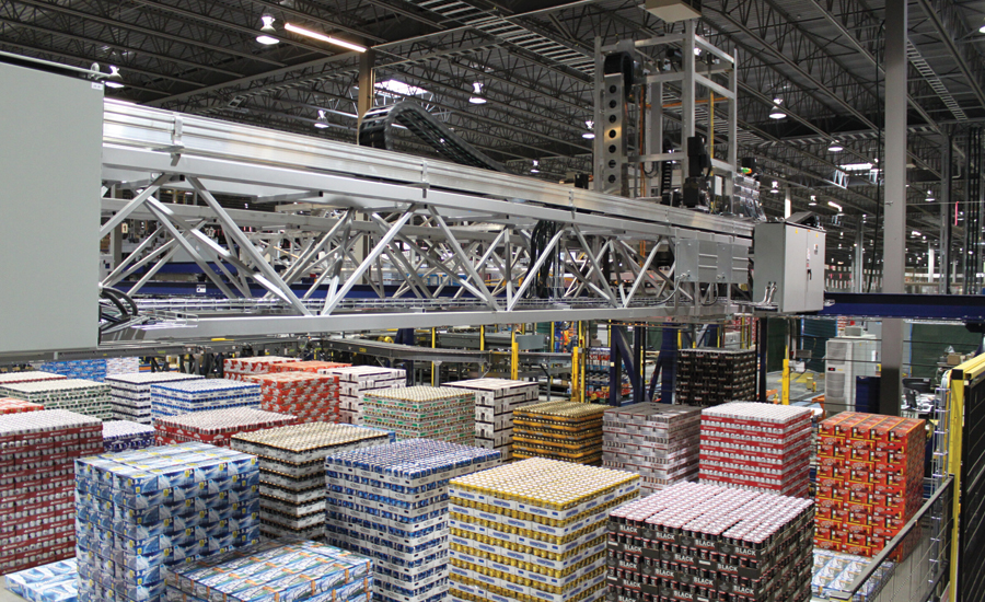 Cimcorp Automated Beverage Distribution.