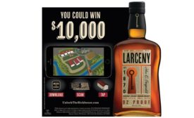 "Larceny Kentucky Straight Bourbon Whiskey launched a new augmented reality app: ""Unlock the Rickhouse."""