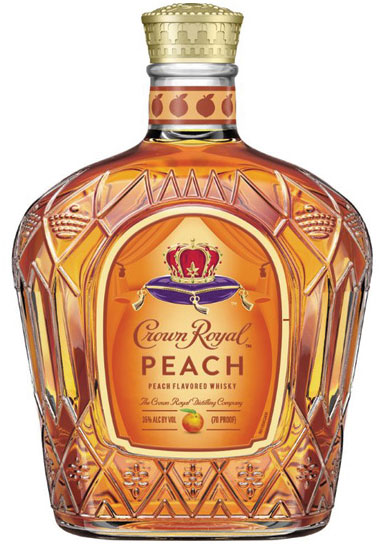 Diageo North America Crown Peach flavored spirit.