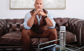 Dwayne Johnson and VOSS Water introduced VOSS' newest consumer-facing advertising and social media campaign: Live Every Drop.