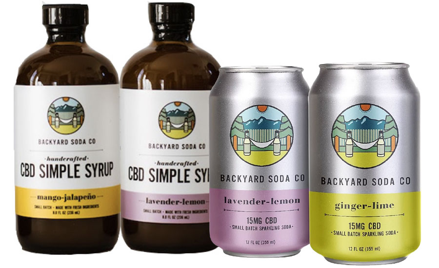 CBD-infused carbonated soft drinks