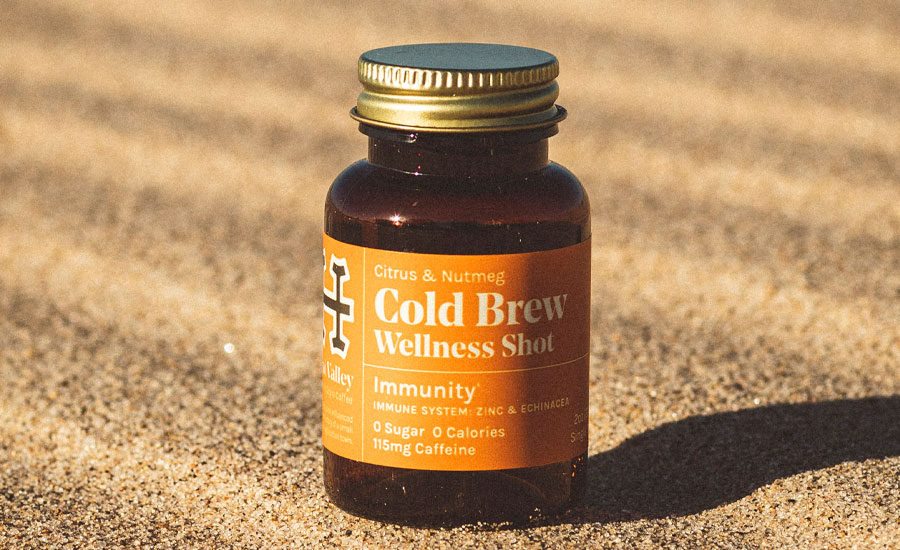vitamin-infused cold-brew shot: Ojai Valley