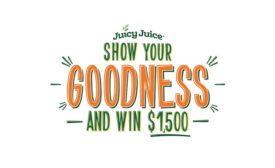 Juicy Juice Show Your Goodness Contest.