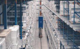 Westfalia Technologies' automated storage and retrieval machine.
