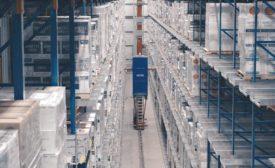 Westfalia Technologies' automated storage and retrieval machine.