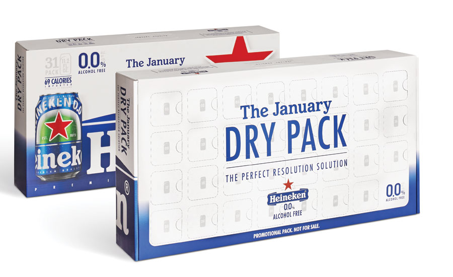 Heineken January Dry Pack
