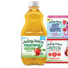 Juicy Juice Fruitifuls Organic, Juicy Waters and Juicy Juice + Protein.