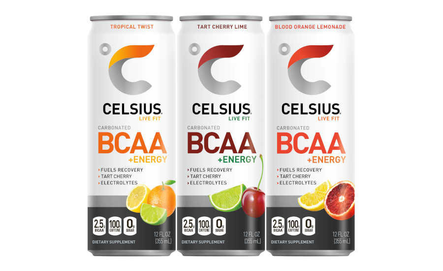 ENERGY DRINKS- Celsius BCAA