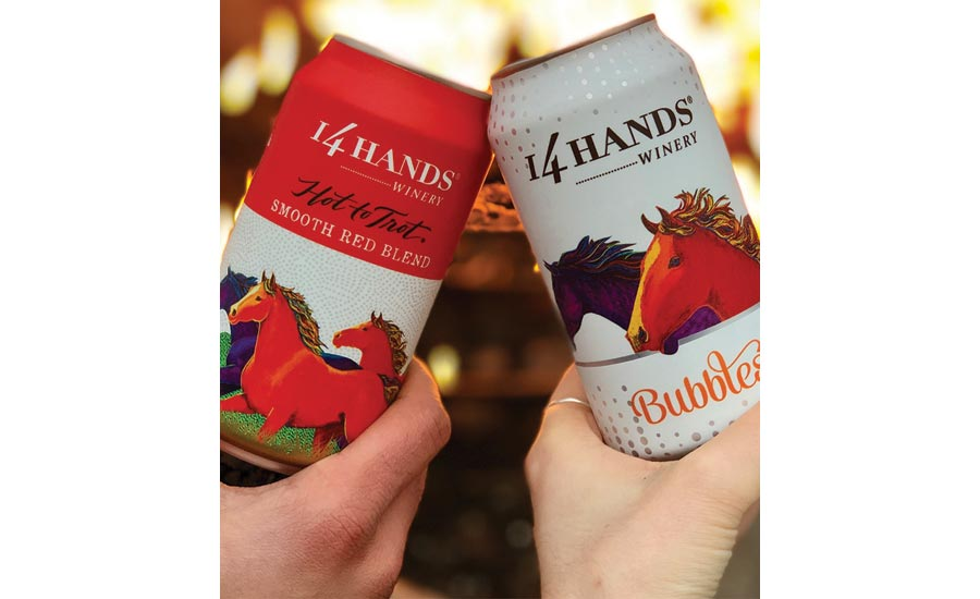 14 Hand's thrives in off-premise channels, launches new can design