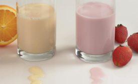 drinkable yogurt beverages