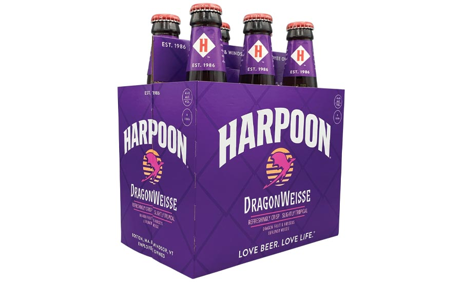 Harpoon Brewery used dragon fruit in their DragonWeisse