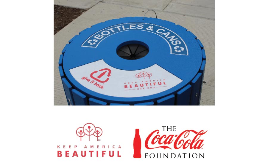 Keep America Beautiful/Coca-Cola Public Spaces Recycling Bin Grant Program