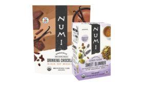 Numi Organic Tea plant-based packaging
