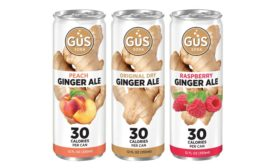 GuS Soda's new flavors contain a blend of monk fruit, stevia and a touch of pure cane sugar