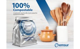 EMSUR USA compostable bag