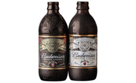 Budweiser Black Lager and Budweiser Cooper Lager.