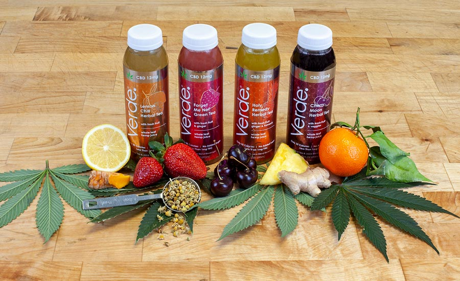 adaptogenic cold-brew teas and cold-pressed juices