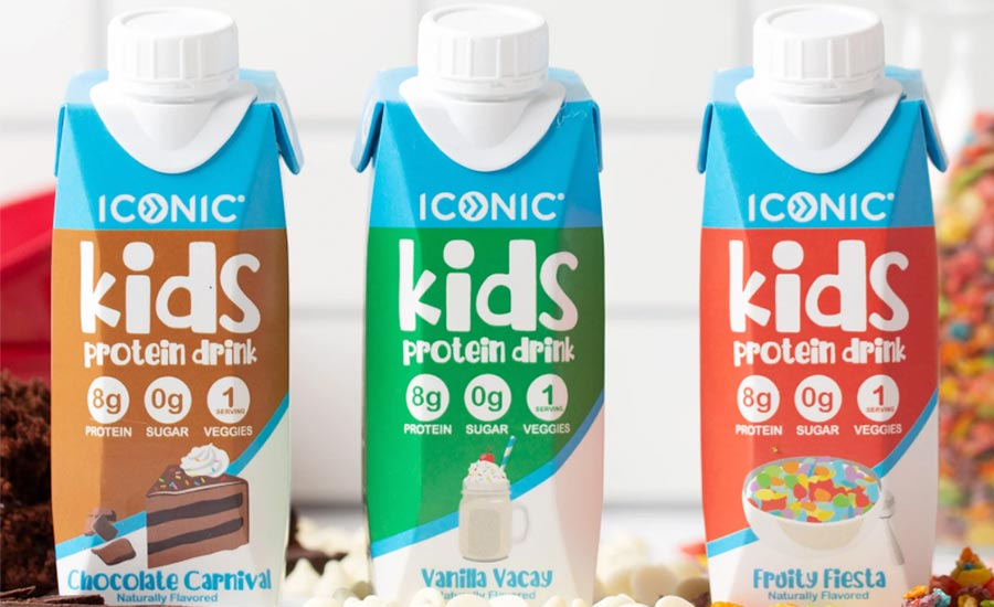 Iconic Kids protein drinks