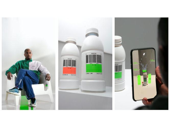 Barcode plant-based, adaptogen-rich performance beverage