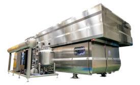 Hiperbaric's in-bulk HPP machines