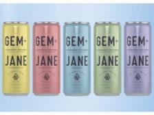 Gem+Jane sparkling cannabis-infused botanical beverage