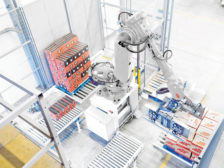 robotics for picking, packing and palletizing