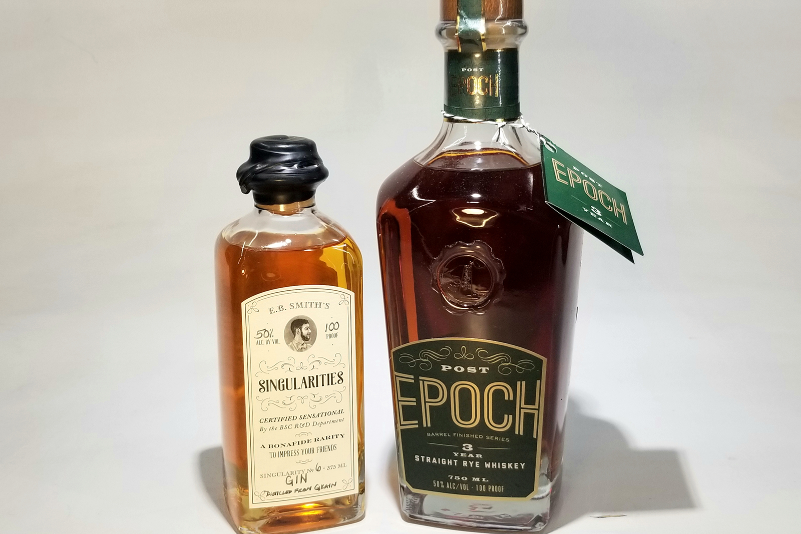 Post Epoch Whiskey, Singularities Gin