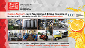 Online Auction: Juice Processing & Filling Equipment